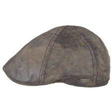 Stetson Men's Leather Flat Caps