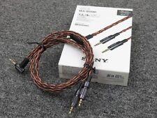 Sony Muc-b12sm1 Stéréo Mini 1.2m 8-wire Tressé Type Y Câble pour Mdr-z7 Z1r
