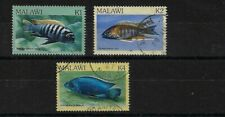 MALAWI SG700/702, 1984 FISH TOP VALUES, GOOD USED, CAT £23
