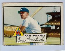 1952 TOPPS # 178 CASS MICHAELS NICE CARD