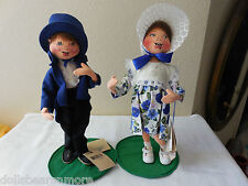 """MINTWT! Annalee 13"""" Jack & Jill From 1999 AND In Mint Condition wTags! VINTAGE!"""