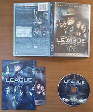 The League of Extraordinary Gentlemen (DVD, 2003, Widescreen) Disc/Case/Booklet