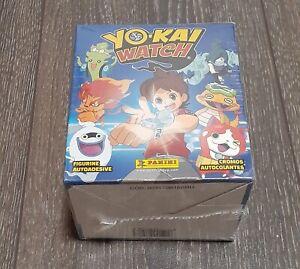 Panini Yo-KAi Watch box stickers 50 pack