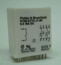 Used TE Connectivity/Potter Brumfield R10S-E1Y4-J1.0K Relay 1KOhm 3A 4PDT RC