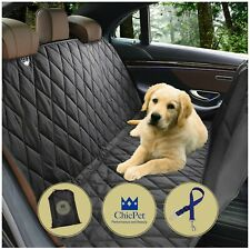 ChicPet UK Dog Car Seat Cover, Includes Pet Seat Belt Lead and Carry Bag