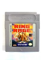 Ring Rage ORIGINAL NINTENDO GAMEBOY Tested + Working & Authentic!