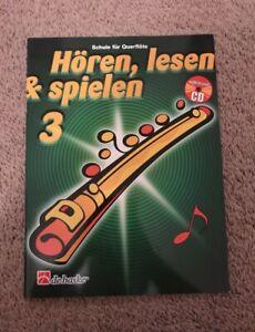 Querflöte Hören, lesen und spielen 3 inkl. CD
