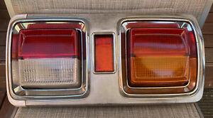 RARE DATSUN 1977-79 STANZA/VIOLET 510 COUPE (A10) GENUINE COMPLETE RH TAIL-LIGHT