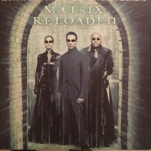 THE MATRIX RELOADED Keanu Reeves Carrie-Anne Moss Laurence Fishburne R2 DVD