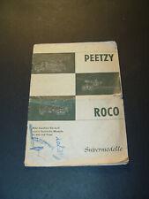 Roco - PEETZY Katalog Supermodelle von 1966
