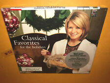 MARTHA STEWART holiday CD il divo placido domingo boston pops charlotte church