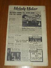 MELODY MAKER 1950 #877 MAY 27 JAZZ SWING JACK NATHAN KATHLEEN STOBART PLEYDELL