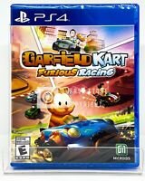 Garfield Kart Furious Racing - PS4 - Brand New | Factory Sealed