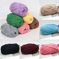 DIY Crochet Cloth Carpets Yarn Cotton Wool hand-knitted Thick Knit Blanket 100g