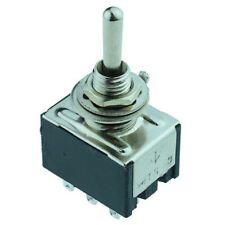 On-off-en Miniatura Mini Interruptor de palanca 3PDT
