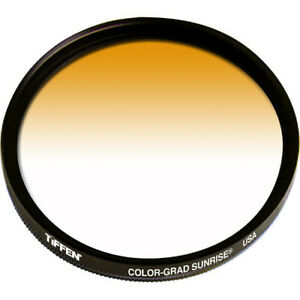 New Tiffen 49mm Graduated Sunrise Filter MFR # 49CGSUN