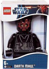 Lego STAR WARS Darth Maul Minifigure Alarm Clock Xmas Christmas Gift Present