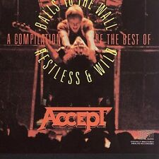 Restless and Wild/Balls to the Wall by Accept (CD, Jul-1986, Portrait)