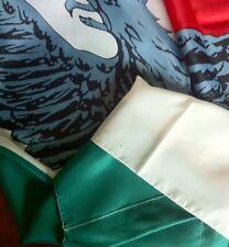 BANDIERA ITALIANA R.S.I.  1943-1945, Tricolore Verde, Bianco E Rosso Con Aquila