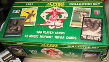 Score baseball factory set - 1991