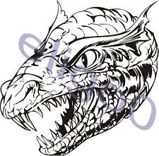 Dragon auto moto decal Adesivo Vinile 47
