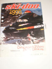 SKIDOO 1998 PARTS CATALOG  MANUAL FORMULA SL