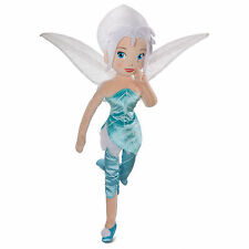 "NEW Disney Store Fairies TINKER BELL SISTER 18"" PERIWINKLE Soft Plush Rag doll"