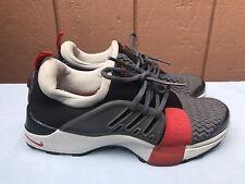 b87ed9873273 EUC RARE 2002 Nike Presto Gray Red Youth XXL 5Y - 6Y 302782 061