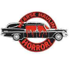 Kreepsville 666 Hearse Iron On Patch Punk Rockabilly Gothic Horror Kustom