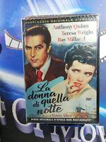 LA DONNA DI QUELLA NOTTE  DVD *A&R*