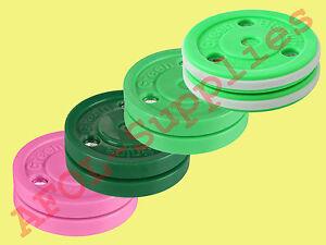 Green Biscuit Training Hockey Puck