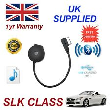 para Mercedes Slk Clase STREAMING BLUETOOTH CARGA USB & Stick Cable mb-mmi-bt001