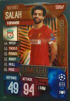 MATCH ATTAX 2019/20 MOHAMED SALAH BRONZE LIMITED EDITION LE1B