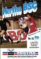 BL 90/91 Hertha BSC Berlin - VfL Bochum, 02.04.1991