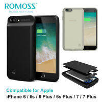 For iPhone 6 6s 6 Plus 7 External Battery Charging Case Power Bank Phone Cover