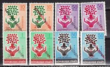 HAITI 443-46 + LP/PA 199-202 MNH  ** alphabétisation 1960
