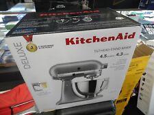 KitchenAid Deluxe 4.5 Quart Tilt-Head Stand Mixer Silver KSM97SL
