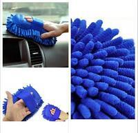 Microfiber Chenille Car Vehicle Care Washing Brush Sponge Pad Cleaning Tool EG
