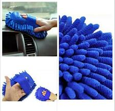 Microfiber Chenille Car Vehicle Care Washing Brush Sponge Pad Cleaning Tool JY