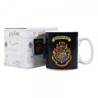 Official Harry Potter Hogwarts Crest Heat Changing Cup Mug 400ml BNIB - FREE P+P