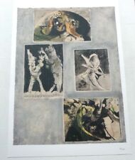 Graham Sutherland   NUMBERED LIMITED EDITION LITHOGRAPHIC ART PRINT