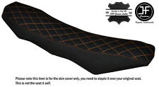 GRIP DIAMOND ORANGE ST CUSTOM FITS KTM 690 SMC R ENDURO 10-16 DUAL SEAT COVER