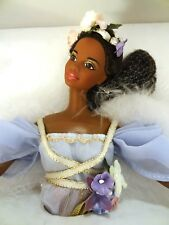 Barbie Collector Harpist Angel 1998 1st Angels Music #20551 AA African American