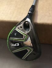 LH Callaway GBB EPIC Fairway 3 Wood 15* Diamana M+50 Ladies Flex Graphite Golf