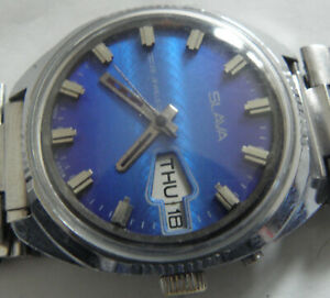WATCH SLAVA-26jew--AUTOMATIC USSR WRIST WATCH MEN,S