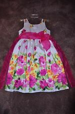 Girls Bonnie Jean Fully Lined Sleeveless Dress - Size 12 1/2