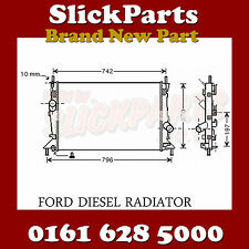 FORD FOCUS RADIATOR 1.6 1.8 2.0 TDCi ALSO ST225 2004 > *NEW*