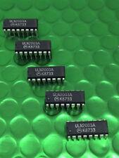 Arreglo de discos QTY5 X ULN2003A Darlington Transistor DIP16 IC sólo 60p cada uno!!! Reino Unido Stock