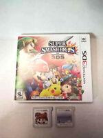 Super Mario 3D Land 3DS Mario Kart 7 And Super Smash Bros Game Lot