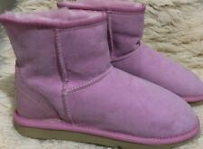 CLEARANCE SALE - 'Jumbo UGG Boots' - ultra short - US 7 - pink -MADE IN AU